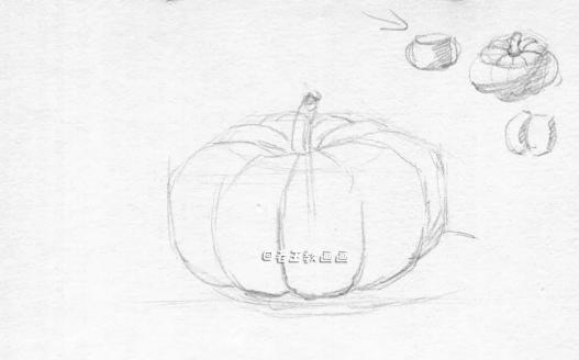 素描绘画教程,一学就会!零基础必学素描小教程