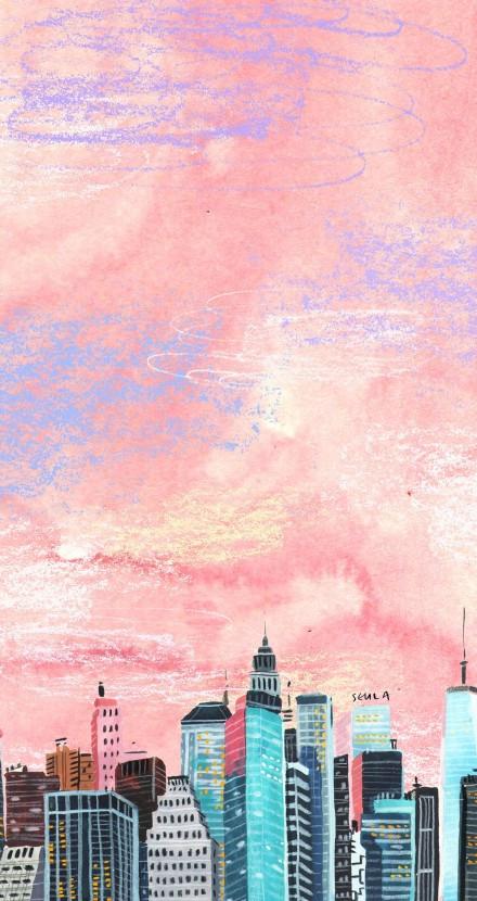 世界很大,你想去看看吗?一组浪漫情调的旅行插画作品分享给你