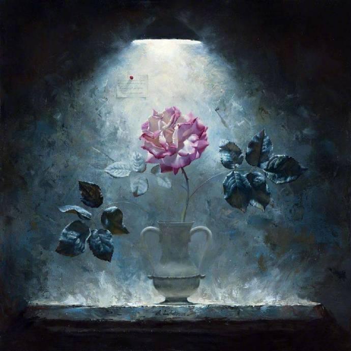 """写实界的""""生命之花"""",就像是被赋予了生命,绽放了美好"""