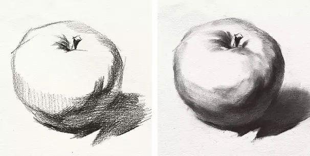 素描水果画法步骤全解析来了!内部资料外泄,快来学习!