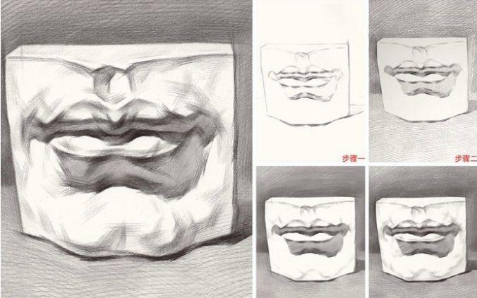 怎么画石膏像?石膏是进入造型基础的关键步骤,你必须要掌握!