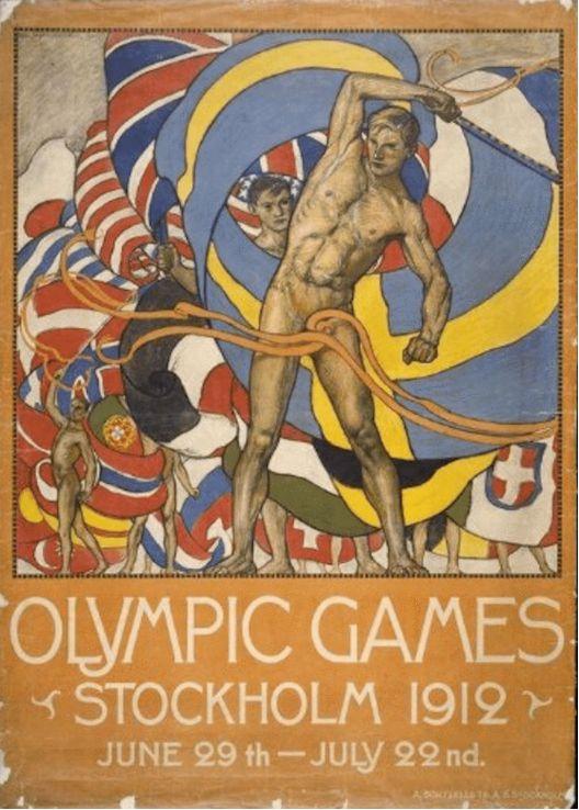 体育产生了美!深度解读奥运海报中艺术美