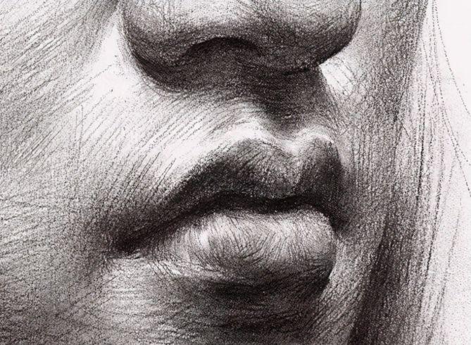人物素描嘴巴怎么画?这几个方法可以帮到你!