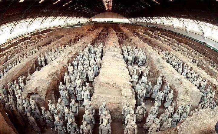 世界上最震撼的雕塑作品其实来自于中国!
