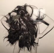 圆珠笔下的艺术,他用圆珠笔画了30多位前女友美照!