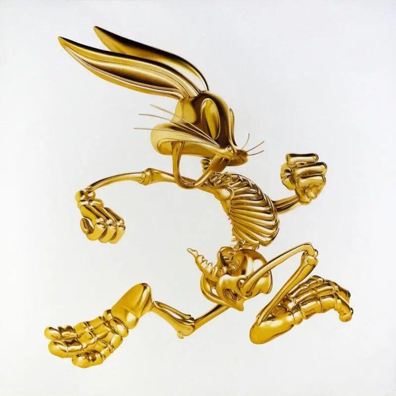 创意素描优秀作品:你以为这是黄金雕塑吗?其实这是素描画!