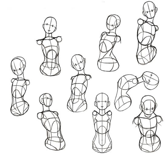 身体的各种姿势怎么画?人体动作姿势的绘制技巧大盘点!