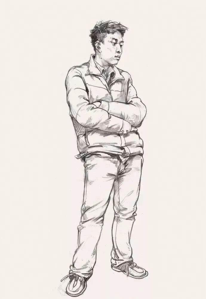 速写人物怎么画?明白这4个原因,你的速写人物也能画活!