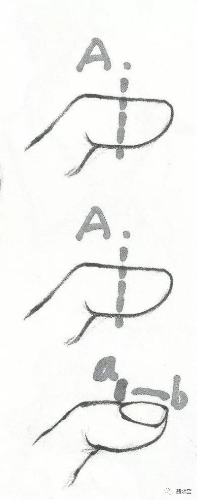 速写手的画法步骤:速写手的细节刻画干货分享!