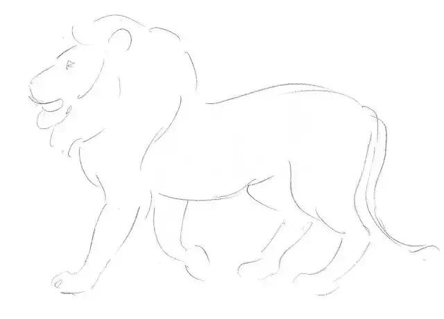 素描入门教程之鱼和狮子,一步一步教你!