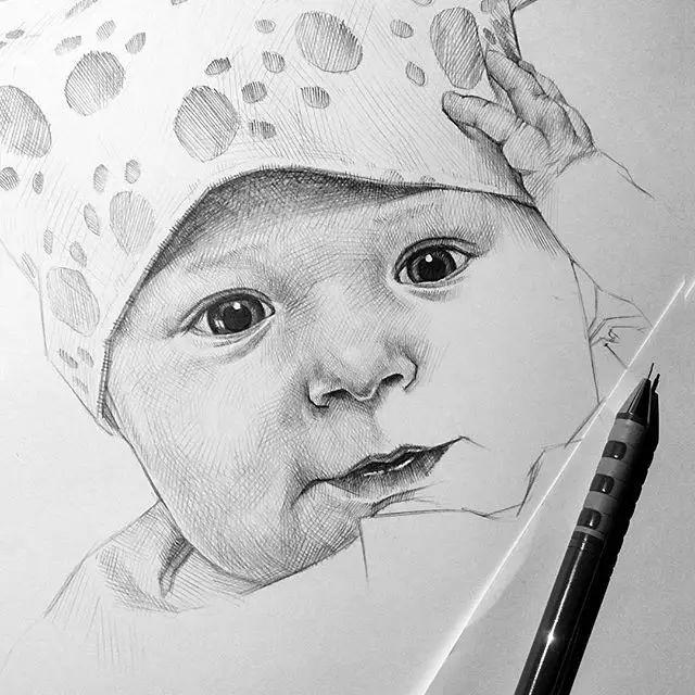 素描头像步骤及画法,轻轻松松让你全部掌握!