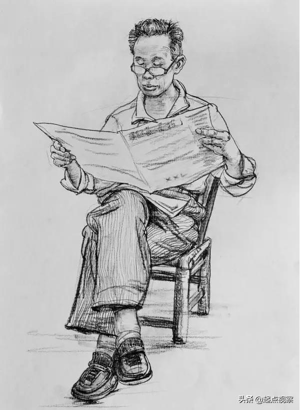 人物速写教程:全方位剖析人物速写,步骤要点通通都有!