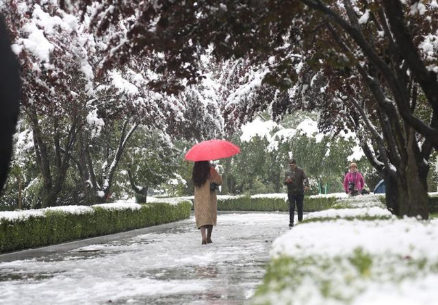 全国多地迎入秋后首场降雪,棉衣安排一波!